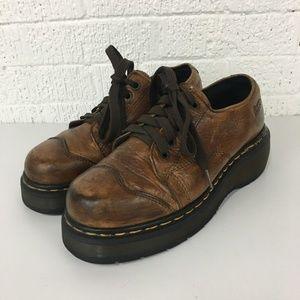 Dr Doc Martens vintage chunky oxfords UK5 / US7